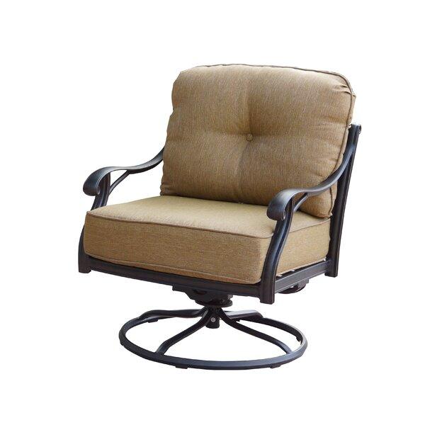 Lincolnville Patio Chair with Cushion by Fleur De Lis Living
