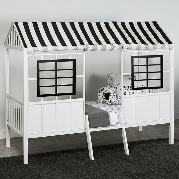 Vista Low Twin Loft Bed by Harriet Bee