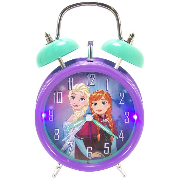Disney Frozen Light Up Alarm Tabletop Clock by Ashton Sutton