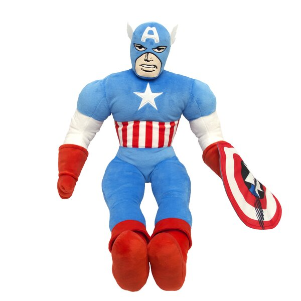 Comics Captain America Pillow by Marvel