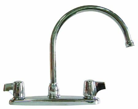 Franklin Double Handle Kitchen Faucet by Elements of Design Elements of Design