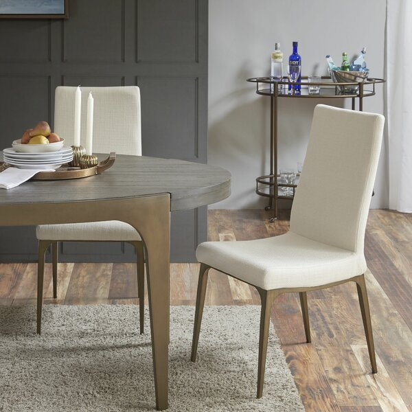 Cartagena Upholstered Dining Chair (Set of 2) by Union Rustic