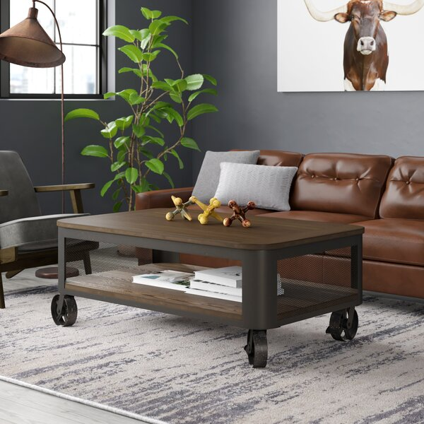 Emerico Lift Top Wheel Coffee Table With Storage By 17 Stories