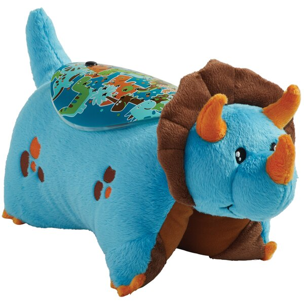 Sleeptime Lites Blue Dinosaur Plush Night Light by Pillow Pets