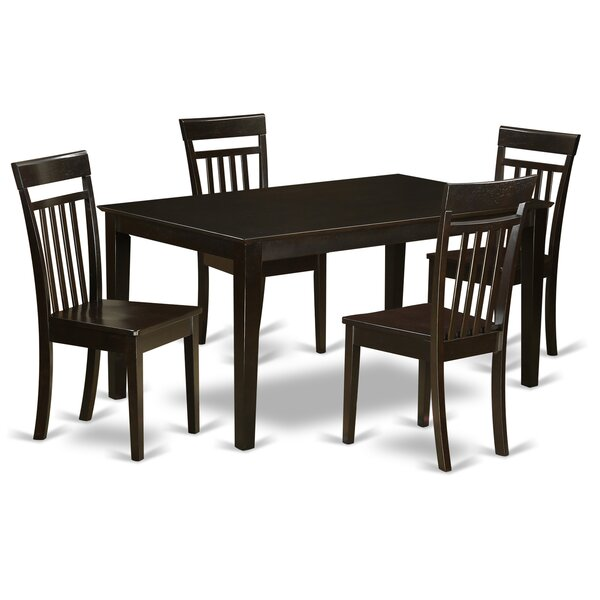 Bargain Smyrna  5 Piece Dining Set By Charlton Home Coupon
