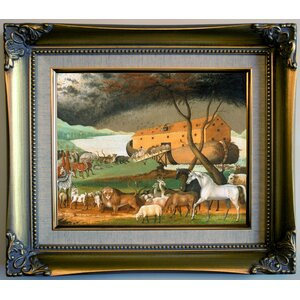 'Noah's Ark 1846' Framed Print on Canvas by Historic Art Gallery