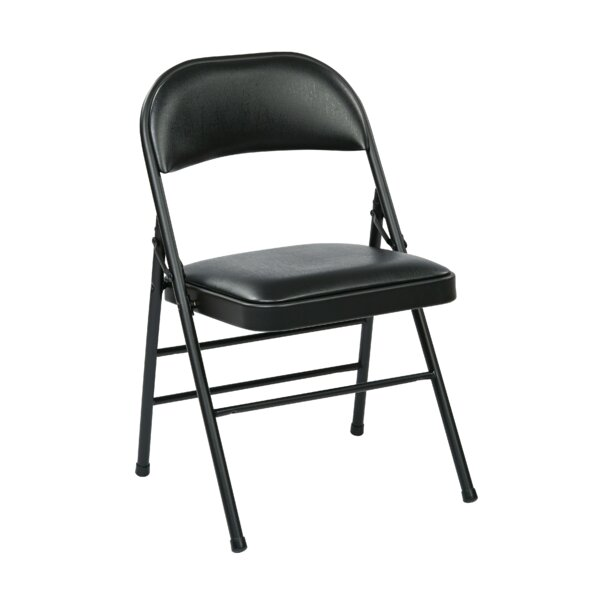 Metal Folding Chair (Set of 4) by Office Star Products