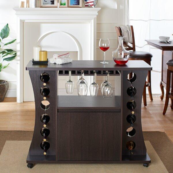 Dennard 12 Bottle Wine Bar By Ebern Designs