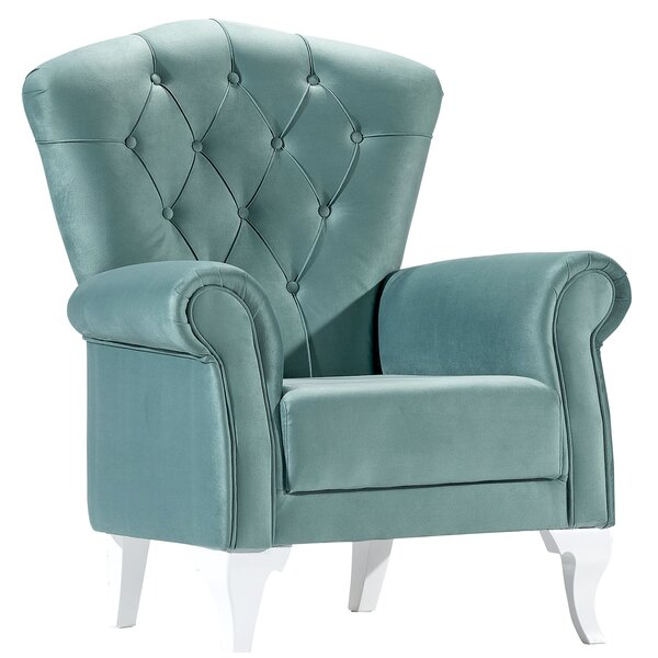 Paton Bergere Armchair by House of Hampton