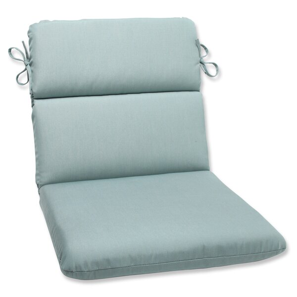 Canvas Indoor/Outdoor Sunbrella Lounge Chair Cushion by Pillow Perfect