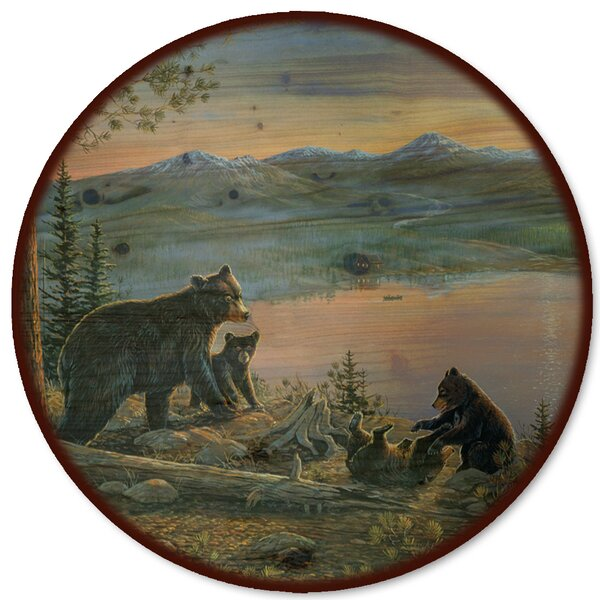 Serenity at Twilight Lazy Susan by WGI-GALLERY
