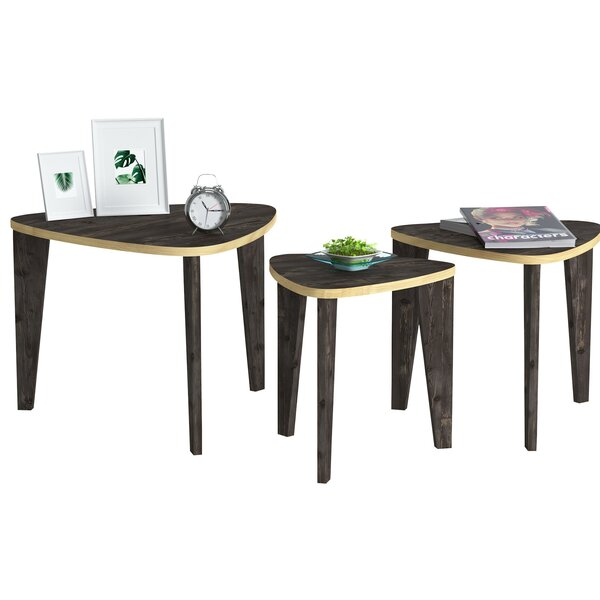 Donohue 3 Legs Nesting Tables By Loon Peak