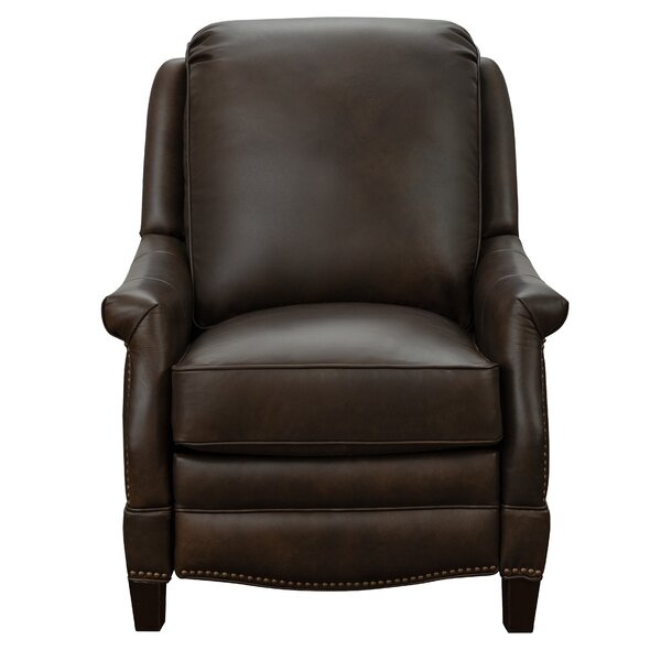 Eleanore Leather Manual Recliner By Darby Home Co