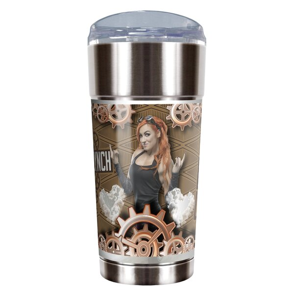 WWE Becky Lynch Vacuum 24 oz. Stainless Steel Travel Tumbler by Great American Products