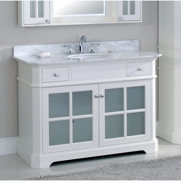 Conner 48 Single Vanity Set by Rosecliff Heights