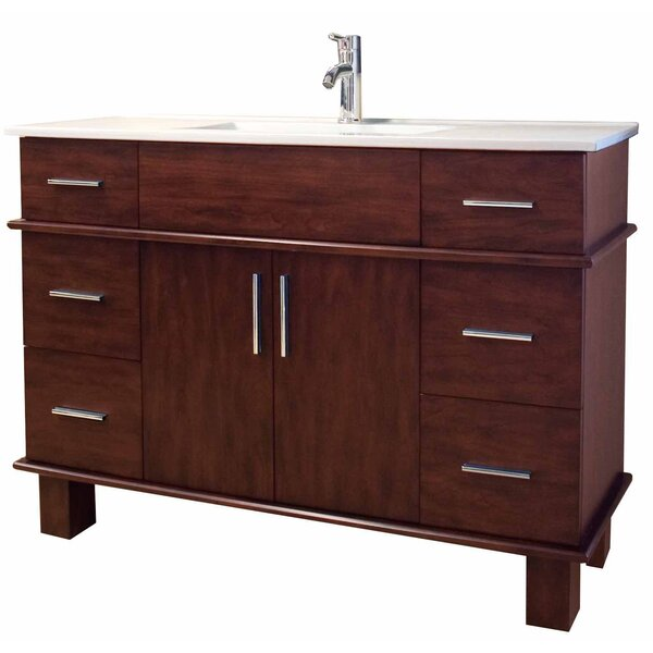 Transitional 47 Single Bathroom Vanity Base by American Imaginations
