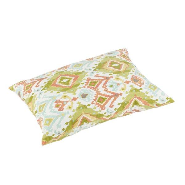 Fealty Knife Edge Indoor/Outdoor Floor Pillow by World Menagerie