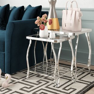 Savings Edda 2 Piece Nesting Tables By House of Hampton
