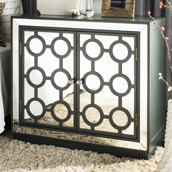 Heanue 2 Doors Accent Cabinet by Everly Quinn