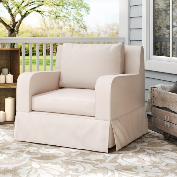 Arney Lounge Chair with Sunbrella Cushions by Darby Home Co Darby Home Co
