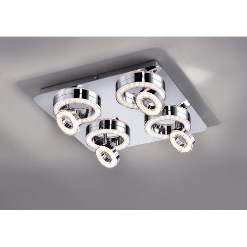 Rosenthal 8-Light LED Ceiling Spotlight Ebern Designs
