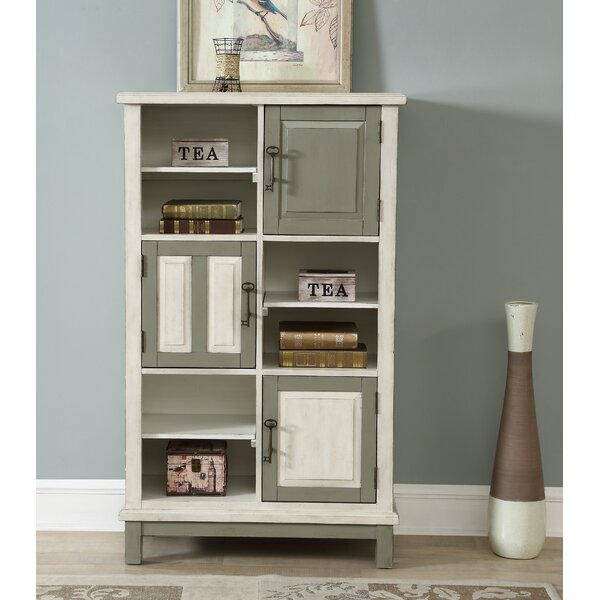 Burroughs 3 Door Standard Bookcase by Gracie Oaks