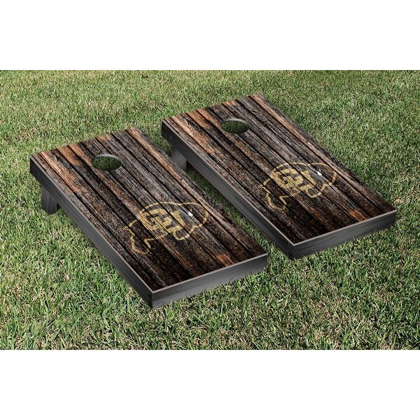 NCAA Weathered Cornhole by Victory Tailgate