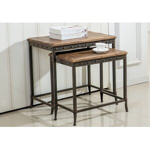 Charming 2 Piece Nesting Tables