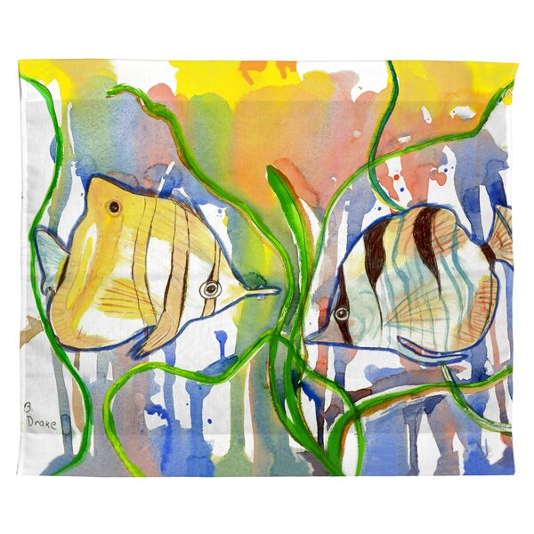 Trejo Angelfish Outdoor Wall Hanging by Bay Isle Home