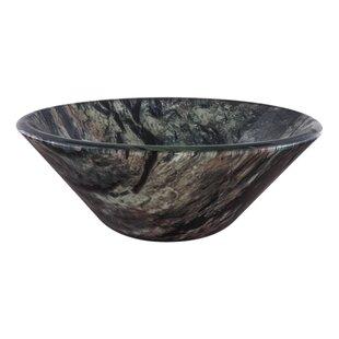 Reviews Mimetizzare Double Layer Glass Circular Vessel Bathroom Sink By Novatto