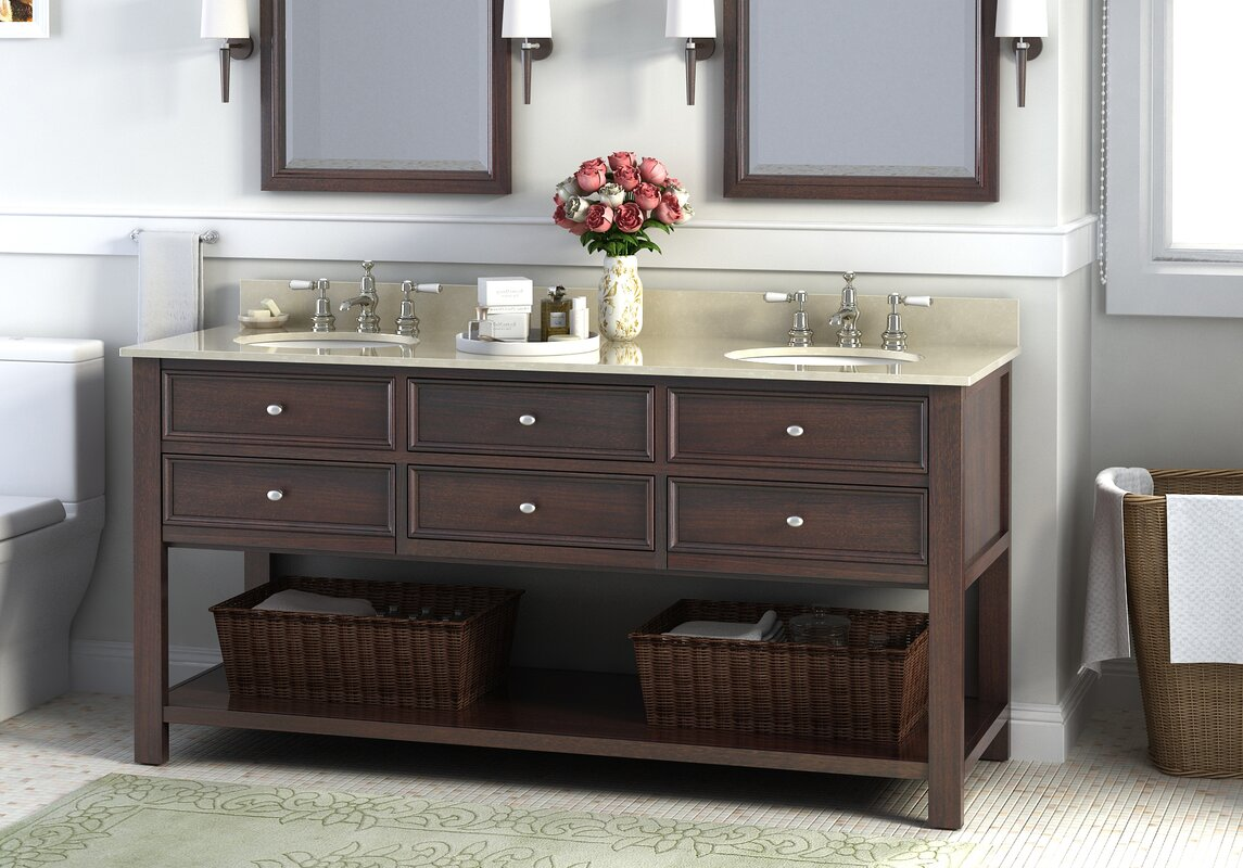 Lanza camber 72 double bathroom vanity set reviews wayfair camber 72 double bathroom vanity set geotapseo Image collections