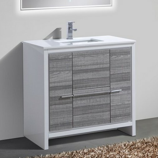 Bosley 36 Modern Bathroom Vanity by Mercury Row