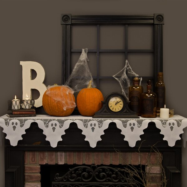 Ghost Mantle Scarf By The Holiday Aisle