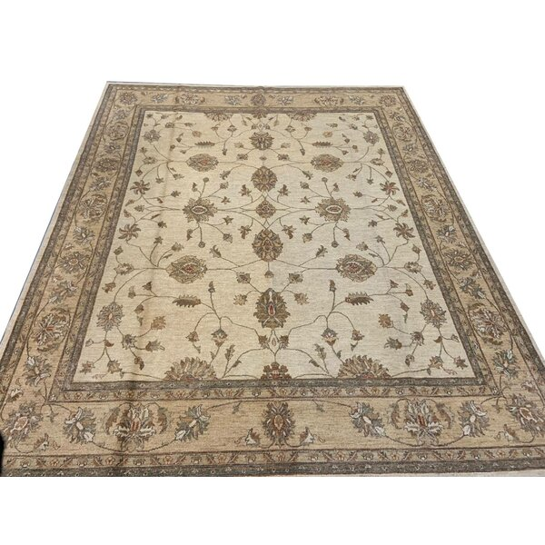 One-of-a-Kind Koio Hand-Knotted Chobi Brown 9'2 x 11'1 Wool Area Rug