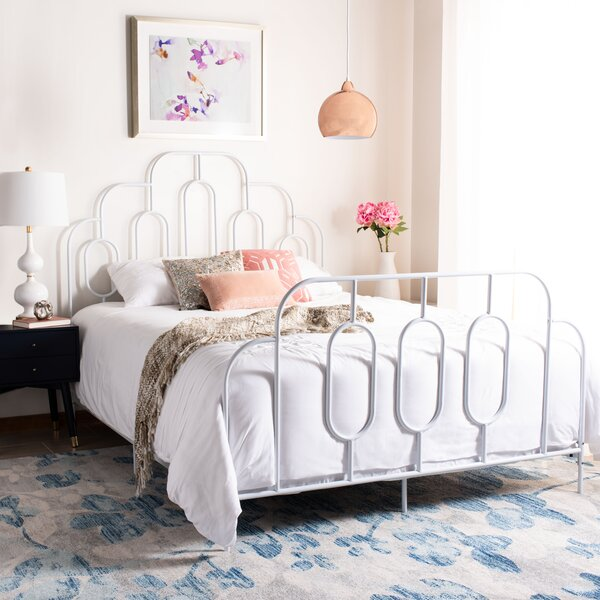 Sheryl Metal Retro Standard Bed by Willa Arlo Interiors