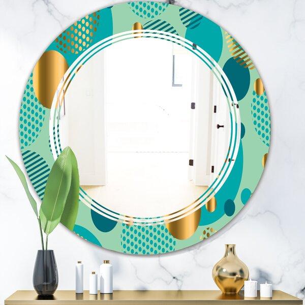 Dynamics III Triple C Modern Frameless Wall Mirror