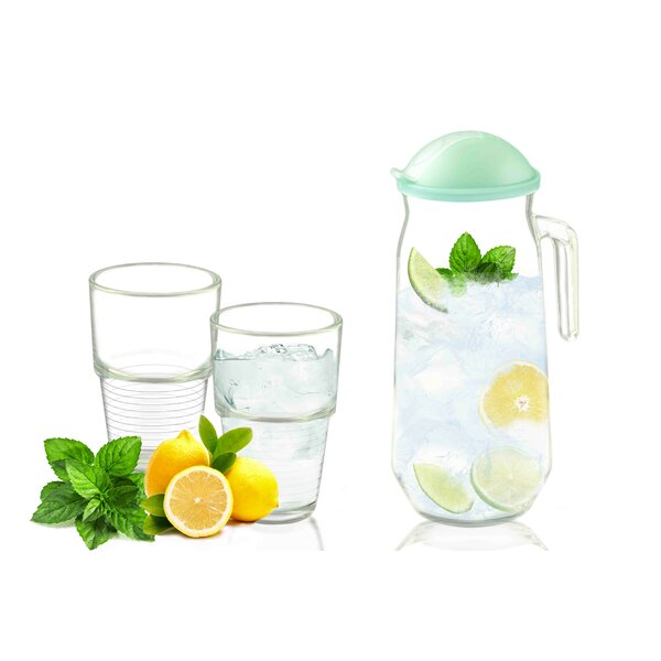 3-Piece Pitcher Set by Glasslock