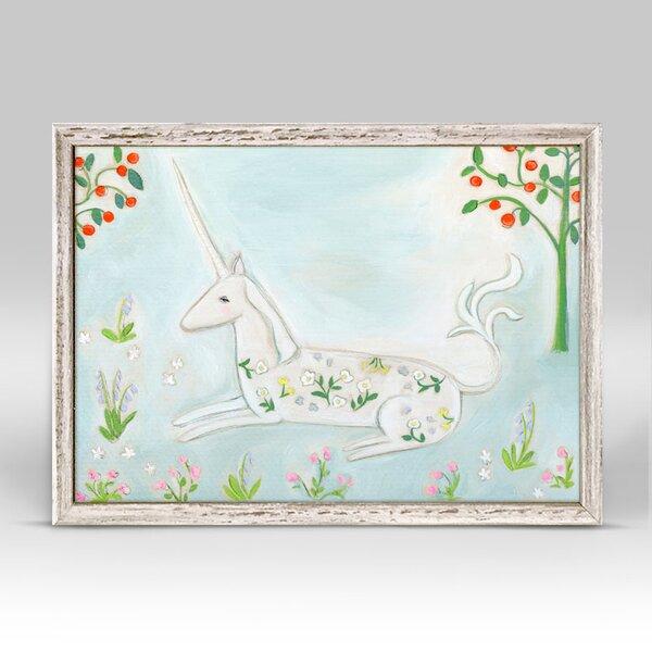 Karrie Dream Bigger Mini Framed Canvas Art by Harriet Bee