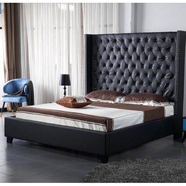 Kiam Upholstered Standard Bed by Winston Porter