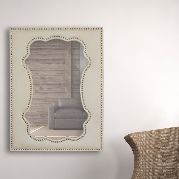 Unique Rectangular Framed Wall Mirror by Majestic Mirror
