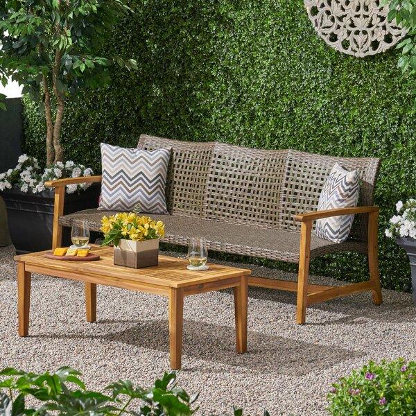 Spann 2 Piece Sofa Seating Group by Bayou Breeze