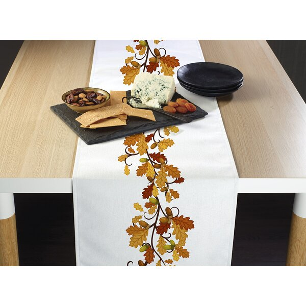 Enyeart Fall Foliage Border Table Runner by The Holiday Aisle