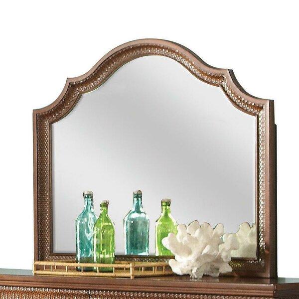 Landscape Arched Dresser Mirror by World Menagerie