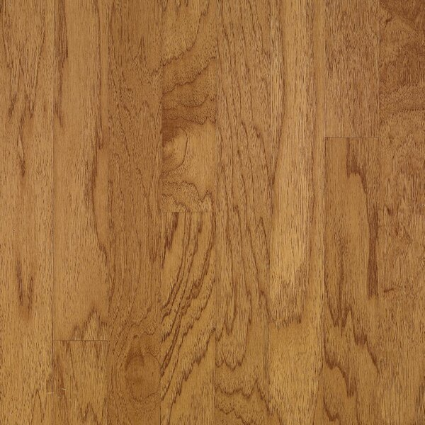 Turlington 5 Engineered Hickory Hardwood Flooring in Smoky Topaz by Bruce Flooring