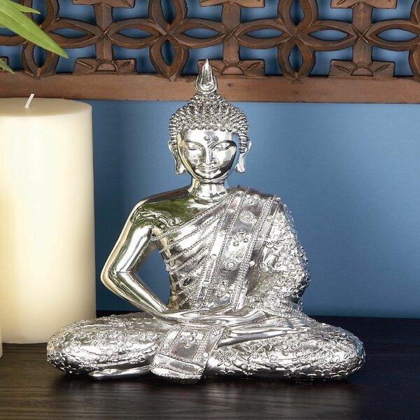 Sitting Buddha Figurine by World Menagerie