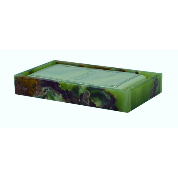 Root Onyx Bathroom Accessory Tray by Fleur De Lis Living