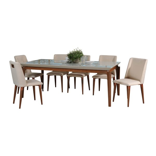 Tatro 7 Piece Dining Set by Union Rustic