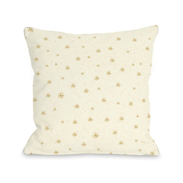 Shine Bright Throw Pillow by One Bella Casa