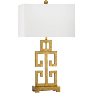 Modern gold table lamps allmodern colon greek 2875 table lamp set of 2 mozeypictures Choice Image