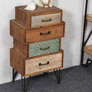 Compare & Buy Burhardt Chic 4 Drawer Accent Cabinet By Bloomsbury Market